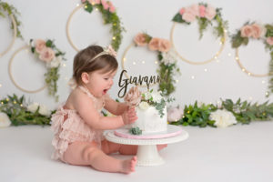 First Birthday Cake Smash Photography