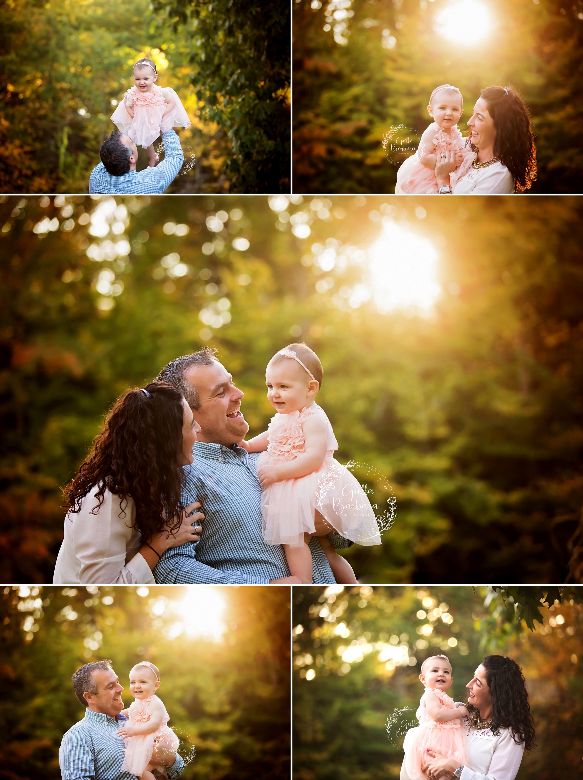 sunset family session nj
