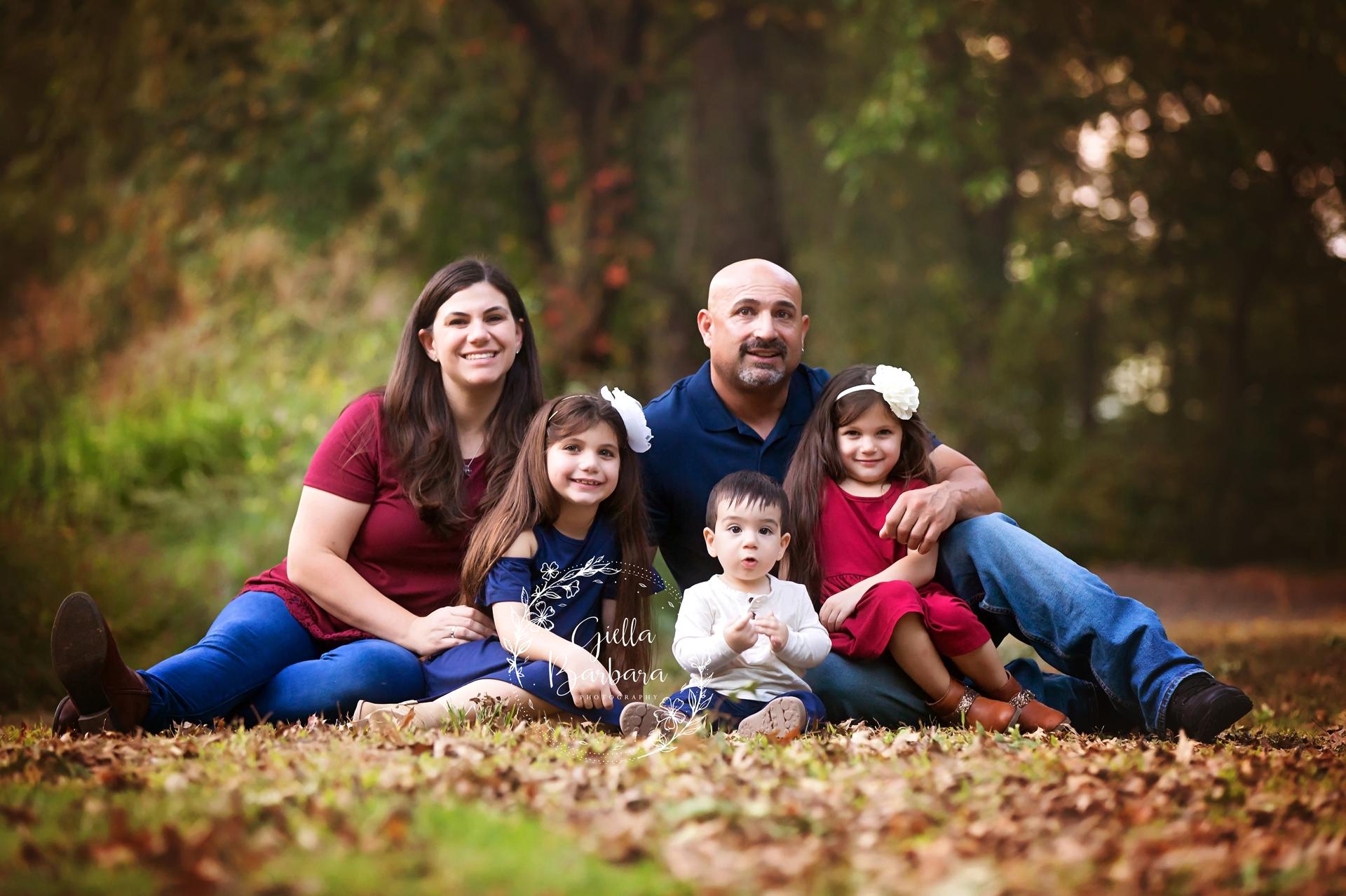 NJ Fall Family