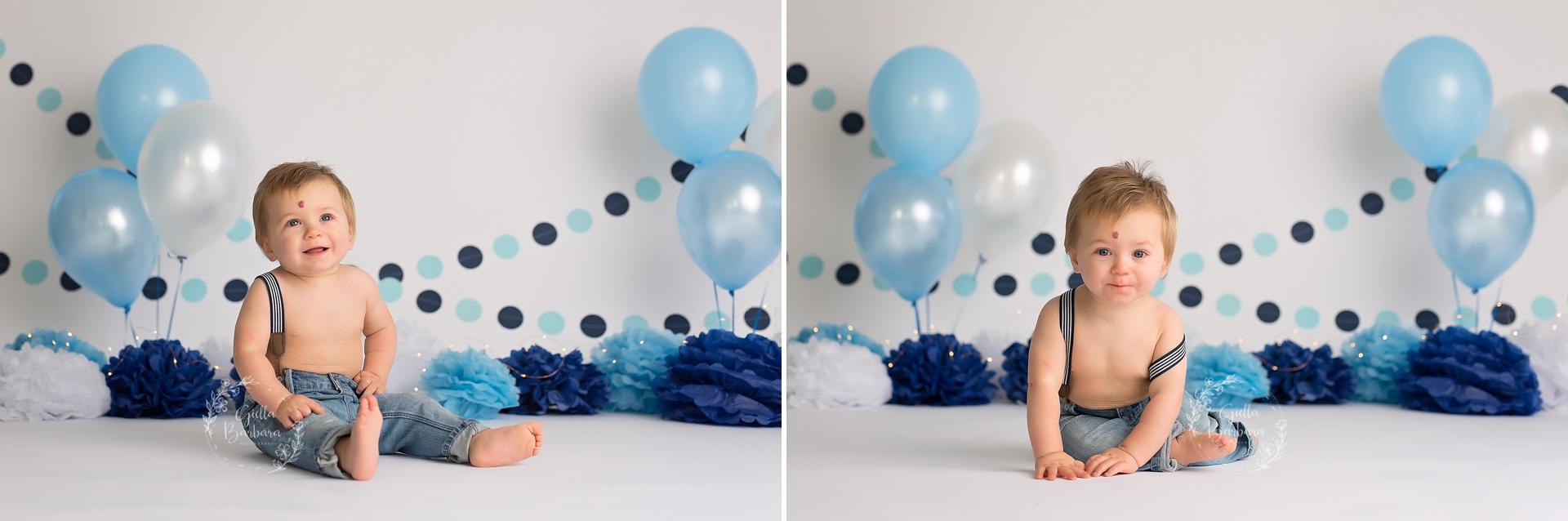 Blue Birthday session