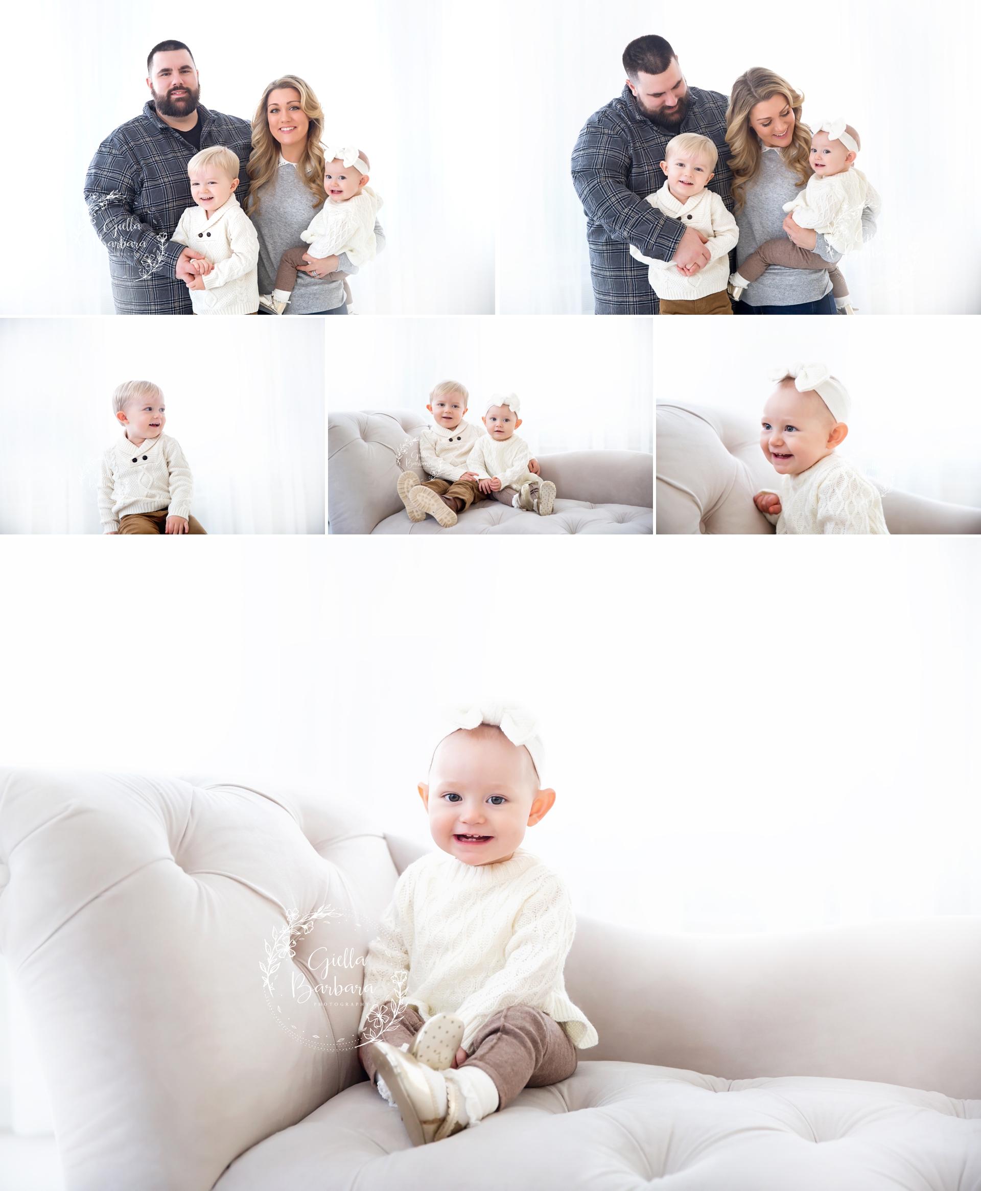 Studio baby photography bergen county