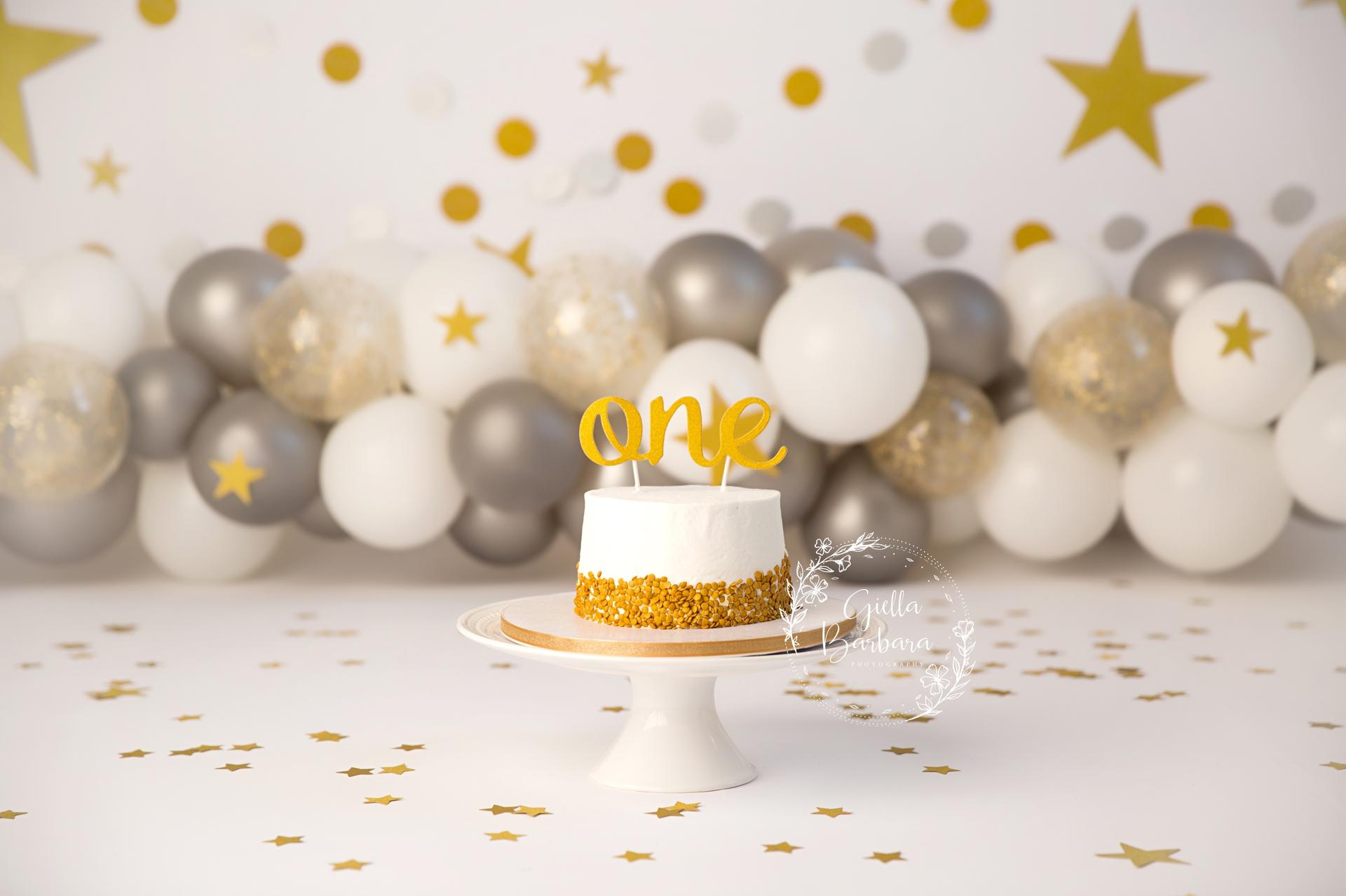 New Years Eve Cake Smash