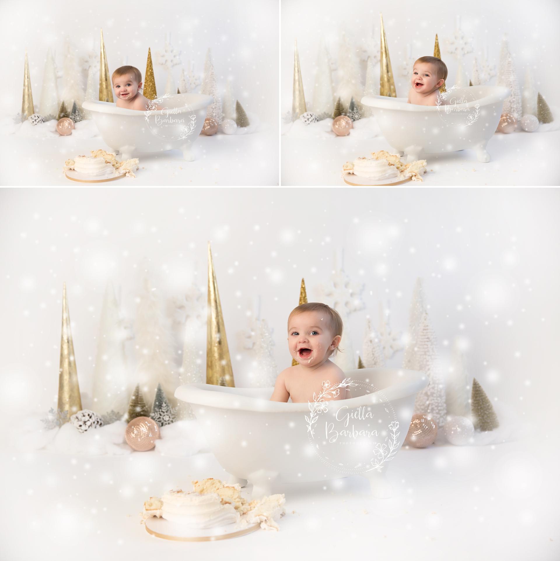 Twinkly bath time