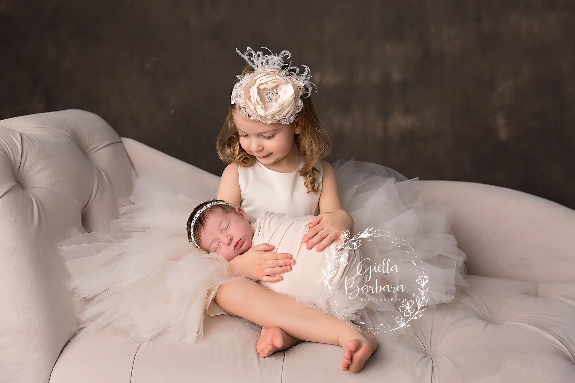 loving on baby sister