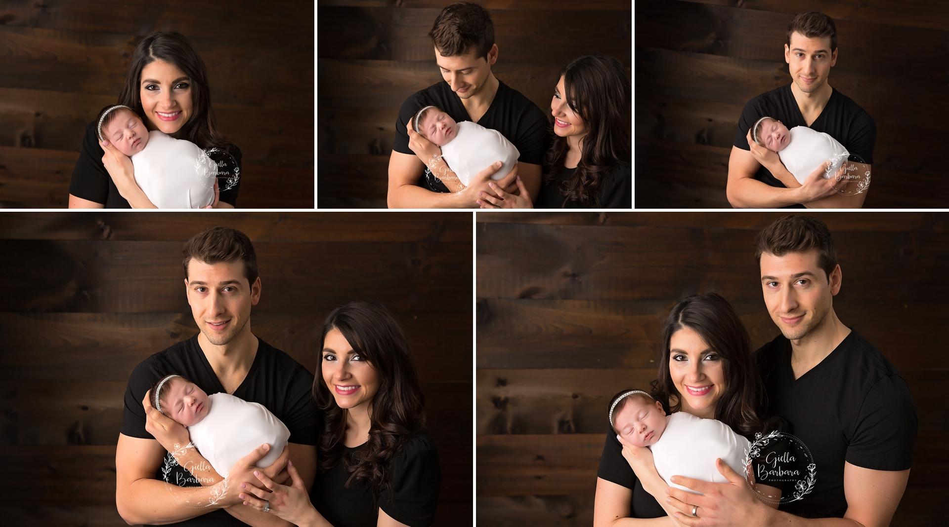 parents and newborn