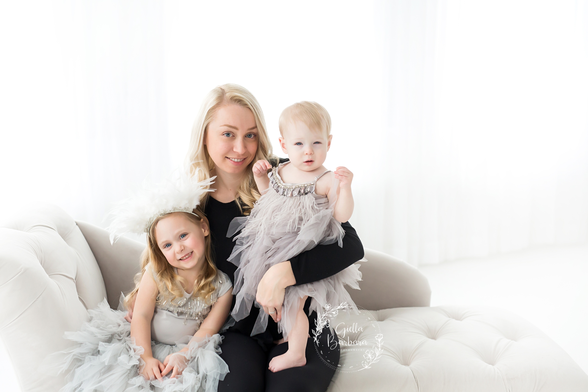 Mommy's little girls