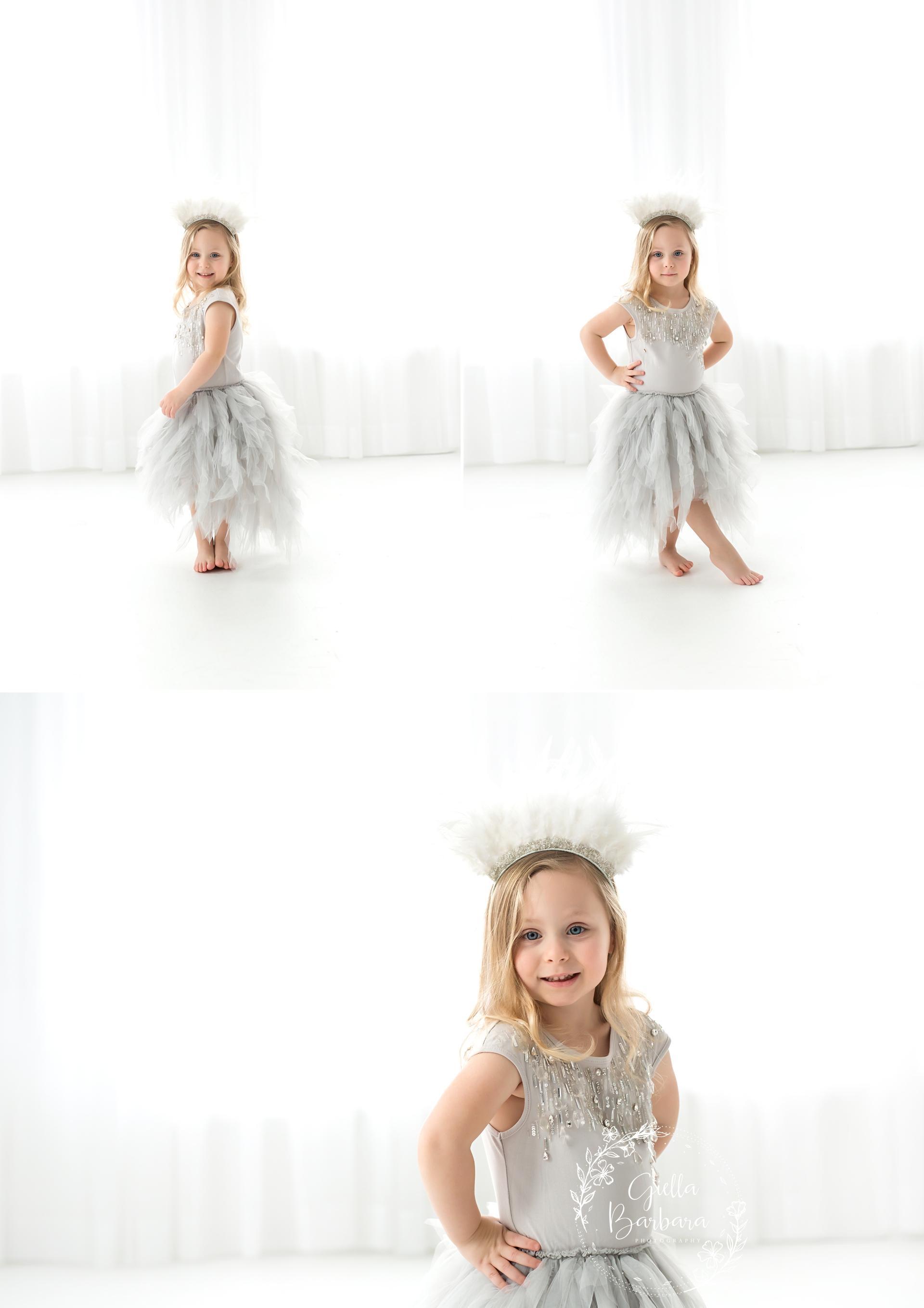 stylish little girl