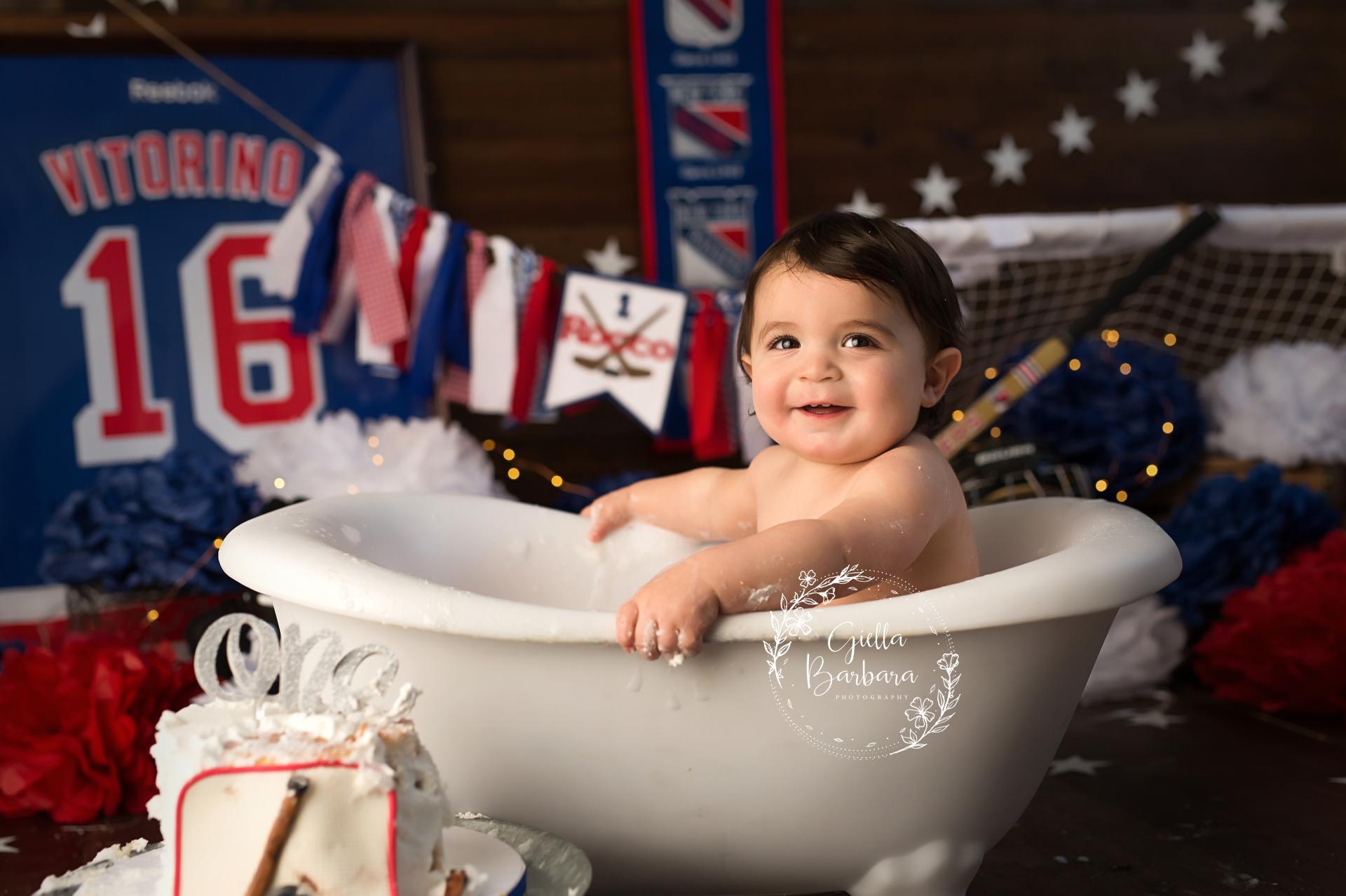 hockey splash tub