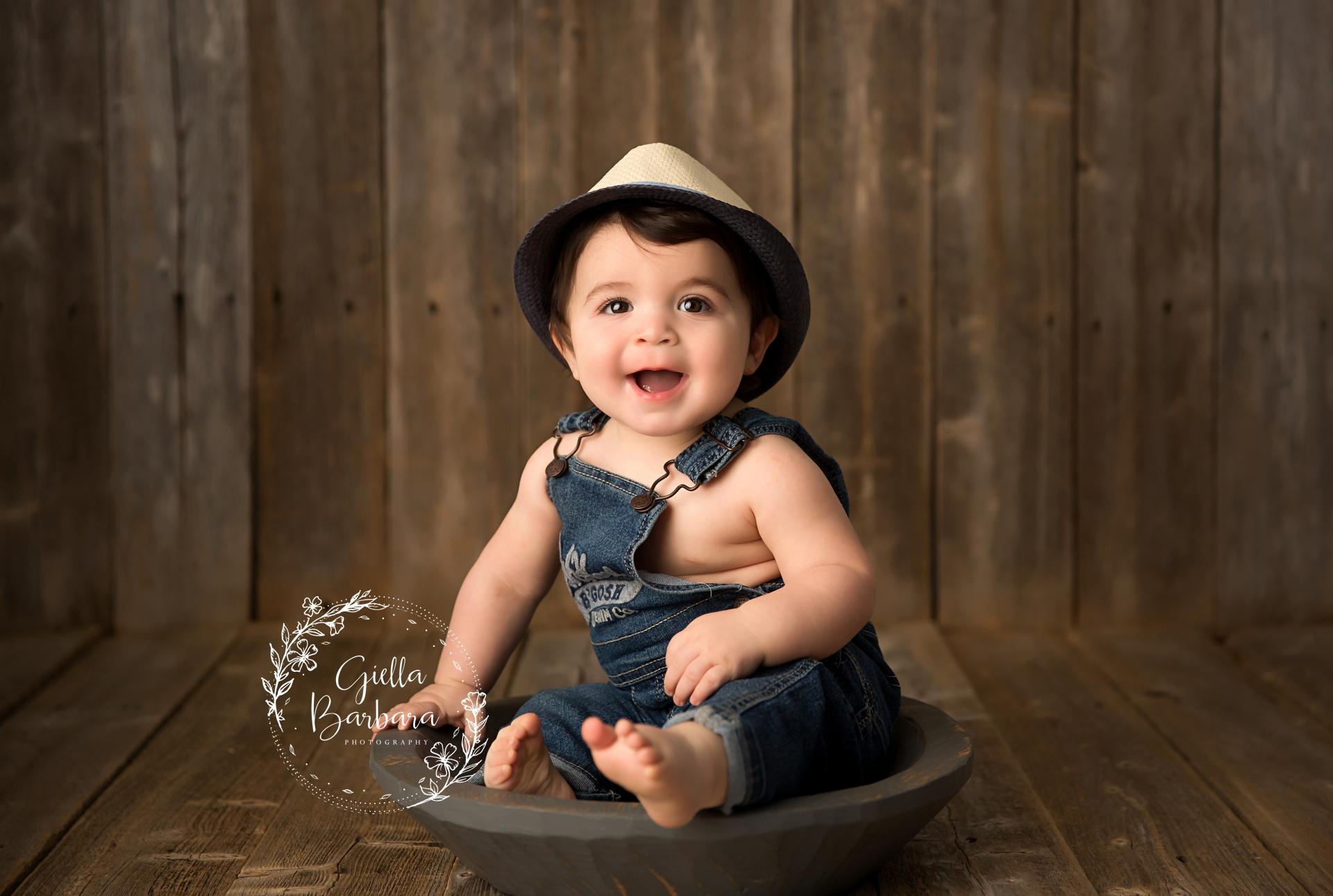 boy in a bowl