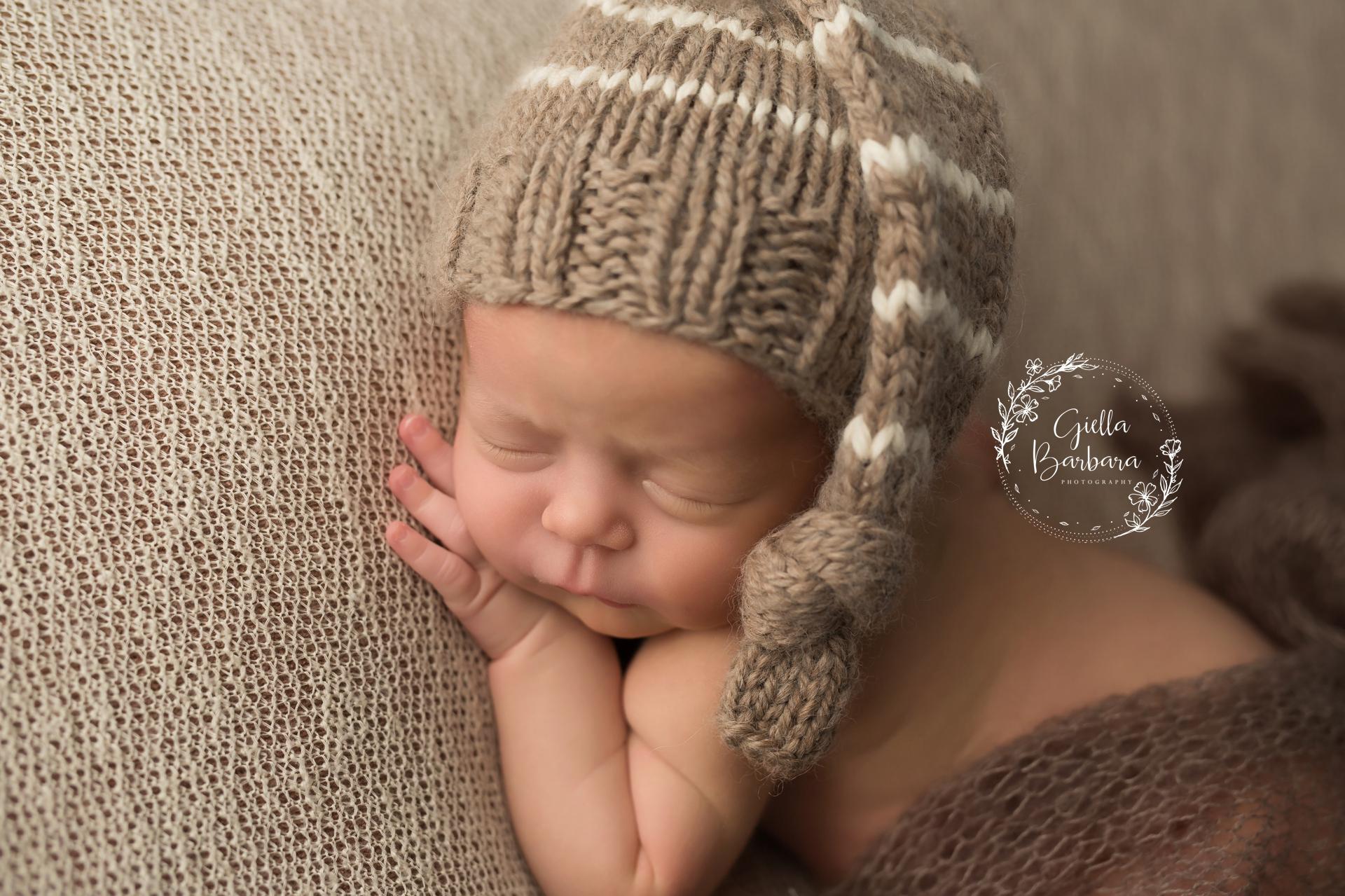 newborn boy hat