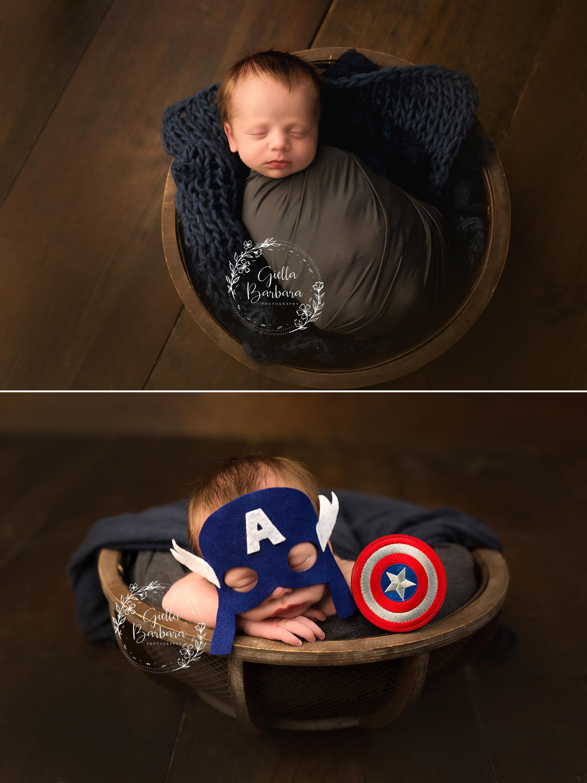 superhero newborn