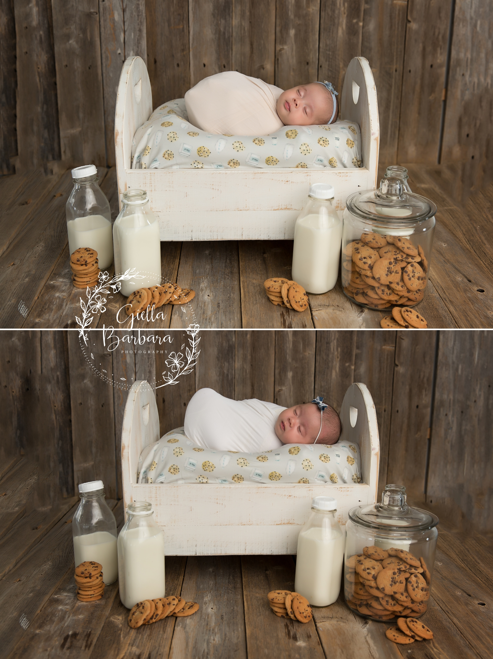 Twin Girls Newborn Photography