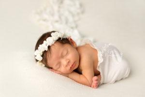 Midland Park Newborn Girl portraits
