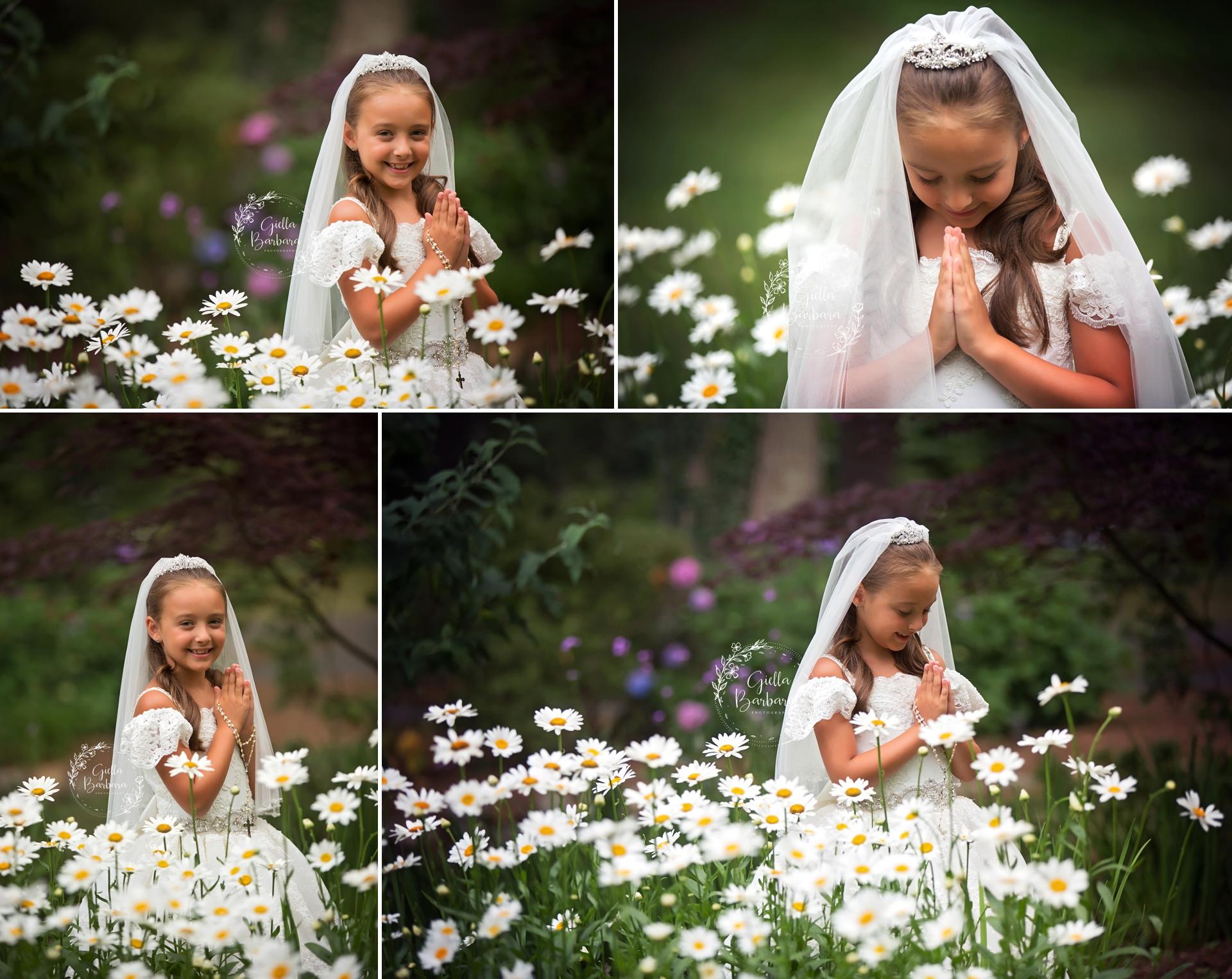 NJ Petite Communion Photography