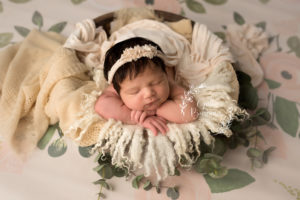 Newborn Girl Studio Photography