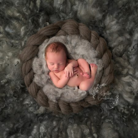 Cole ~ Newborn Baby Boy Photos ~ NJ Baby Photographer