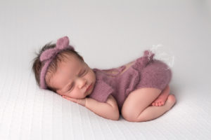 Sweet Newborn Girl Photography