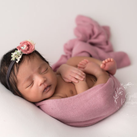 Little Itty Bitty One ~ Baby Girl Newborn Session ~ Northern NJ